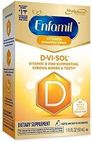 Enfamil D-Vi-Sol Vitamin D Supplement Drops for Infants, 50 mL dropper bottle