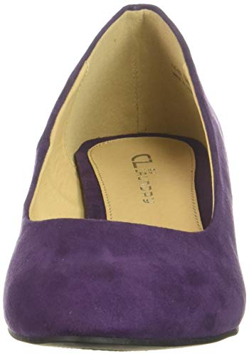 Grape Laundry Chinese Pump Suede Dress Highest Women's Dark by CL q1xfw81