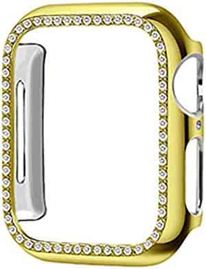 Tonsee Smart Watch, Protective Cover TPU Bling Diamond Crystal Shiny for Apple Watch 4 40 mm Steady and Secure,Durable and Stylish Watch