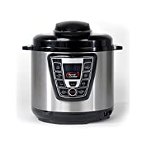 Power Cooker Pro 6-Quart Digital Pressure Cooker by Tristar Products, Inc