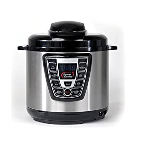 Power Cooker Pro – Digital Electric Pressure Cooker and Canner – SuperStar Pressure Cooker!!