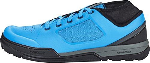 Shimano Flatpedal Schuh Sh-Gr7b Flatpedal, Schnürung Blue