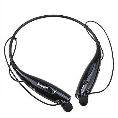 DETIKE Wireless Bluetooth 3.0 Music Stereo Universal Headset Headphone Vibration Neckband Style for iPhone iPad Samsung