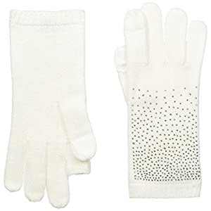 Calvin Klein Women's Ombre Crystal Studded Gloves