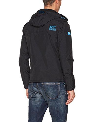 Veste denby Pop Zip Windcheater Homme Hood Multicolore black Superdry Sport Blue Tech De aRxXE1