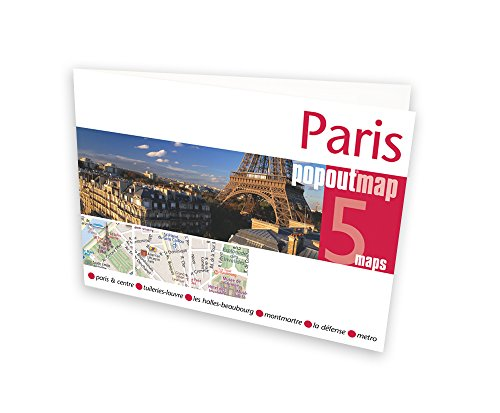 Paris PopOut Map PopOut Maps