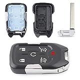 Keyecu Remote Smart Key fob Case 6 Button for