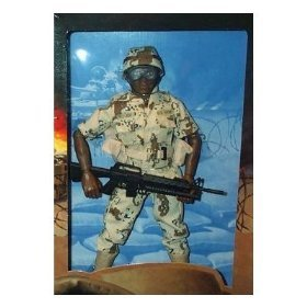 Gi Joe Camo (GI Joe US Army Infantry Desert Camo African American 12