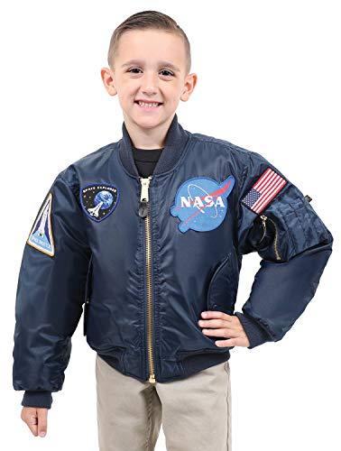 Rothco Kids NASA MA-1 Flight Jacket, L