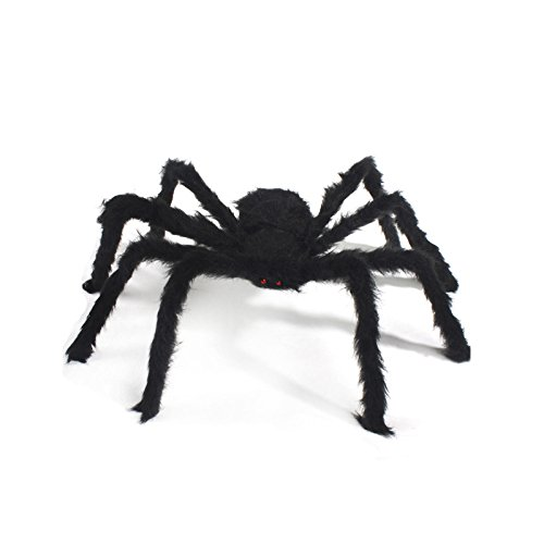 Eachbid Halloween Spider Toys Party Haunted House Indoor Outdoor Prop Decor Wide 30cm