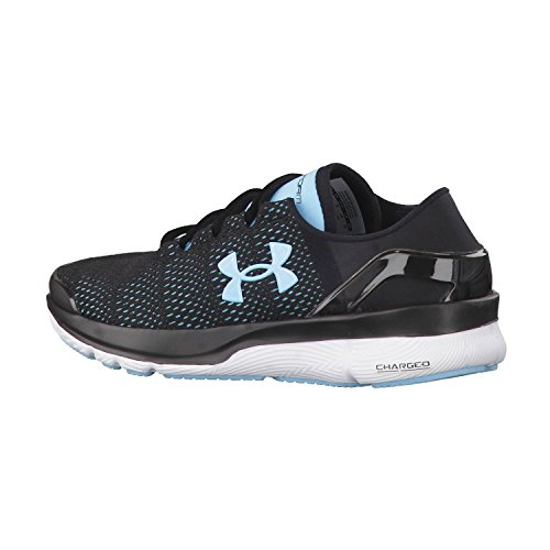 Under Armour Speedform Turbulence Zapatillas Para Correr Mujer negro 1289791-002 Black/Sky Blue/White