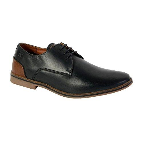 Redskins Lanior2, Zapatos de Cordones Derby para Hombre Noir