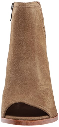 5 Women's Bootie Oiled Peep Danica Soft Boot Suede FRYE US Sand 7 M pdqv6g