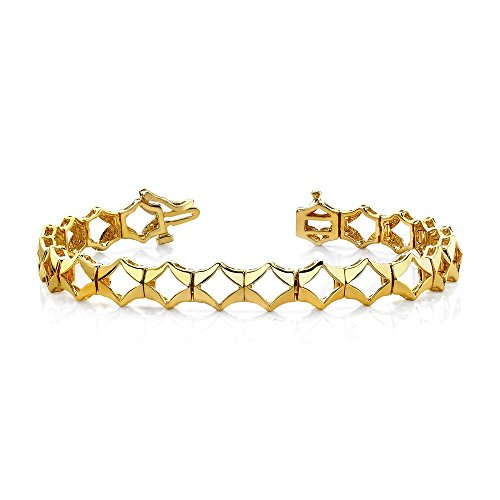 14k Add-a-Diamond Tennis Bracelet