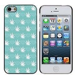 Diamond Supply Co 1 Sky Blue Weed and Diamonds iphone 4/4s Case by icecream design