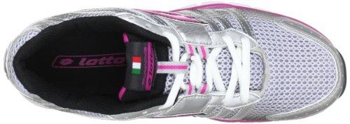 Corsa Da Grigio W Skyride grau silv Donna Scarpe Lotto Pink super rosa argento IZqSwOO