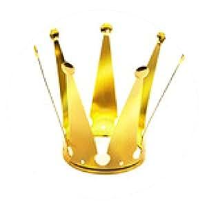 alfombrilla de ratón corona de oro - ronda - 20cm