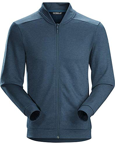 Arc'teryx Men's Dallen Fleece Jacket, Nighthawk, Blue, ()