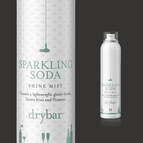 Drybar Sparkling Soda Shine Mist Tames Frizz and Flyaways Mini Tsa Approved