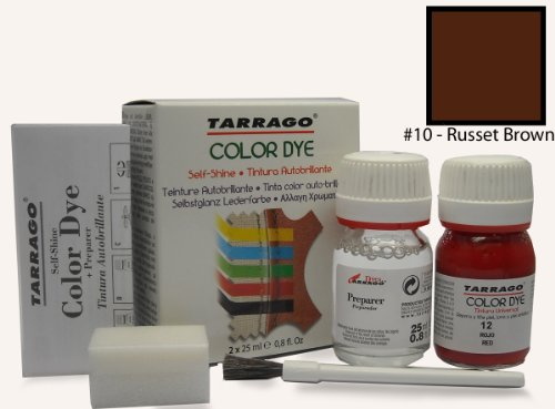 Tarrago Self Shine Color Dye and Preparer 25Ml. Russet Brown ()
