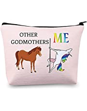 MBMSO Funny Godmother Gifts Bag Other Godmothers Me Unicorn Godmother Proposal Gifts Godmothers Pouch Cosmetic Bag