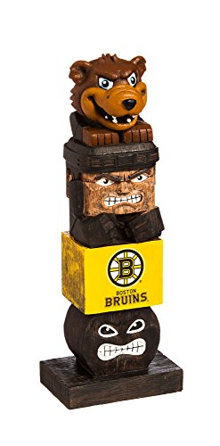 Evergreen NHL Boston Bruins Tiki Totem