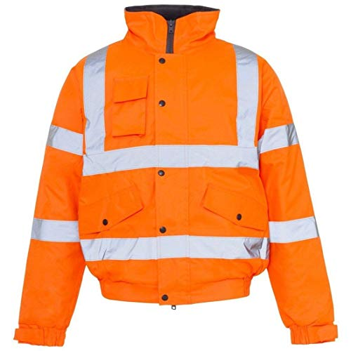 Impermeabile Bomber Life Real Ltd Giacca Orange Fashion Jacket Uomo w17OAIOqU