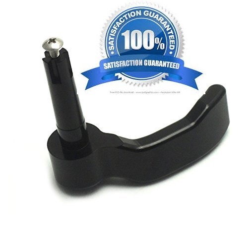 Polaris Scrambler Sportsman 550 570 850 1000 Thumb Throttle Lever for ATV Quad (Black)
