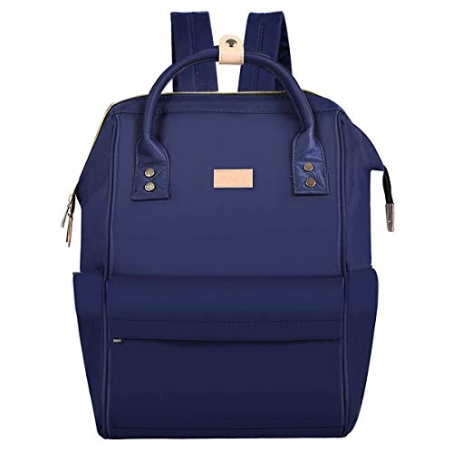 - MOSISO Laptop Backpack 15 Inch (up to 14.96 x 9.69 inches), Water Repellent Polyester Business Travel College School Bookbag Daypack for Women Men Boy Girl, Compatible MacBook & Notebook, Navy Blue