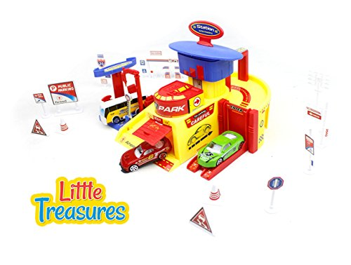 Play Bearing End (Little Treasures Toy, Parking Tower Car Parking Garage Play Set)