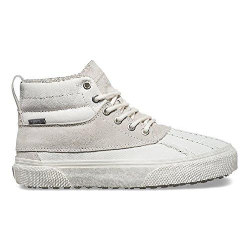 Vans Unisex Adults SK8-Hi Del Pato MTE Scotchgard Fashion Shoes Blanc de Blanc, 9