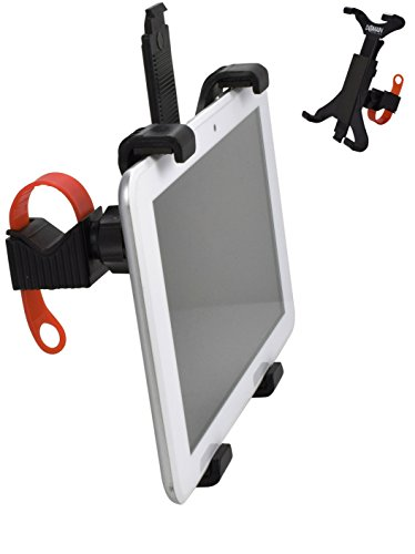 Domain Cycling Tablet Mount for Spin & Exercise Bike Handlebars, iPad Holder