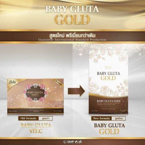 Baby Gluta Vit C Glutathione Supplement Whitening Lightening Brightening Skin 1X