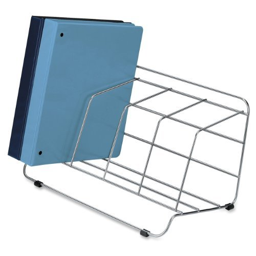 Fellowes Wire Catalog Rack (Fellowes Catalog Rack, 4 Compartment, Wire, Silver (10402), Model: 10402, Office)