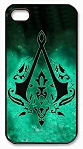 AC Revelations Assassins Creed Revelations iPhone 4 4S PC Black Case Fits iPhone 4 4S by Popcustom