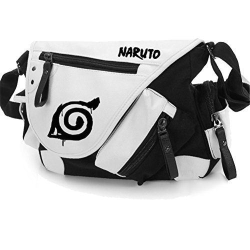 YOYOSHome Naruto Anime Uchiha Sasuke Cosplay Backpack Messenger Bag Shoulder Bag