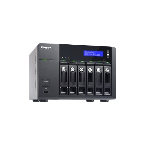 QNAP TS-670-PRO-16G-US / 6-bay Home & SOHO NAS for Personal Cloud and Multimedia Experience Intel Core i3 i3-3220 3.30 GHz - 6 x Total Bays - 16 GB RAM - Serial ATA/600 - RAID Supported - HDMI - 5 x USB Ports - Yes