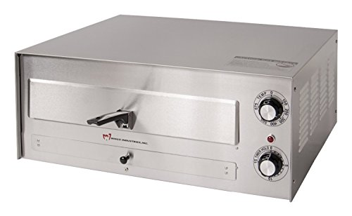 Wisco 560E Pizza Oven, Heavy Duty Stainless Steel, 16'' Diameter by Wisco
