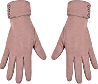 Winter Touch Screen Gloves Warm Windproof Smart Phone Texting Glove For Women