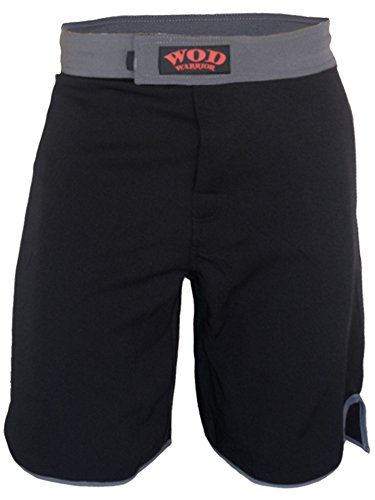 WOD Shorts- WOD Warrior 1.0 (Black/Grey, 30)