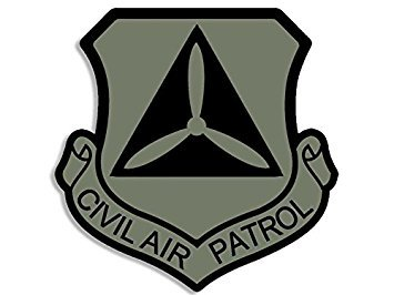 - MAGNET SUBDUED COLORS Civil Air Patrol Shield Shaped Magnet(cap crest logo insignia) Size: 4 x 4 inch