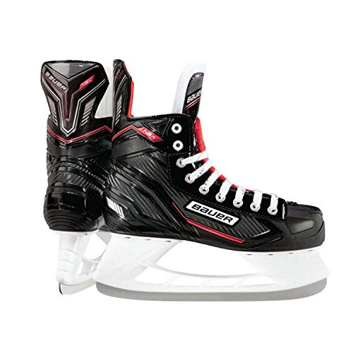 (Bauer  NS Skate Senior, Black, 9 R)