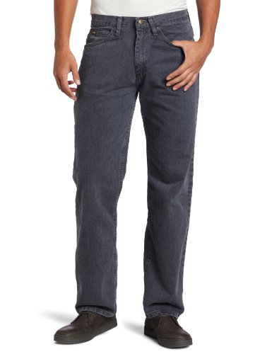 Lee Men's Relaxed Fit Straight Leg Jean, Thunder, 33W x 30L