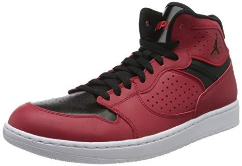 Nike Herren Jordan Access Basketballschuh, Schwarz, EU