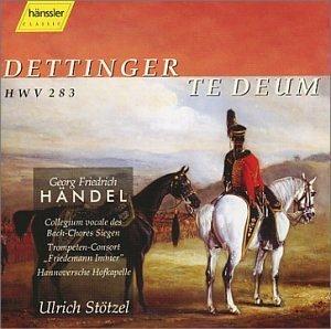 Handel: Dettingen Te Deum by N/A (2002-01-25)