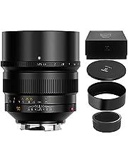 $769 » TTArtisan 90mm F1.25 Full Fame Lens for Leica M-Mount Cameras Like Leica M-M M240 M3 M6 M7 M8 M9 M9p M10