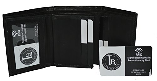 Blocking Leather Classic Trifold Leatherboss