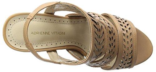 Adrienne Vittadini Womens Prim Sandal Nude
