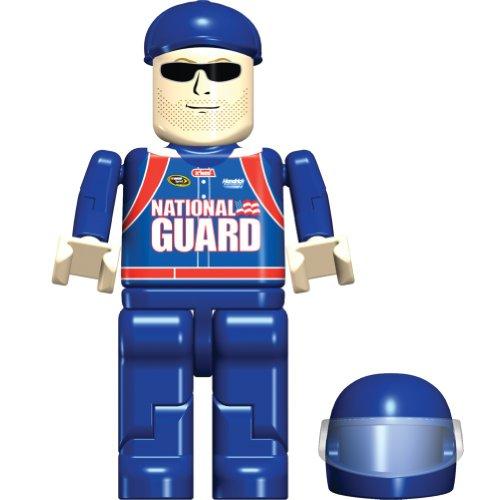 K'Nex Dale Earnhardt Jr Figure Bag, 36509, 8 Piece Set, NASCAR, National Guard