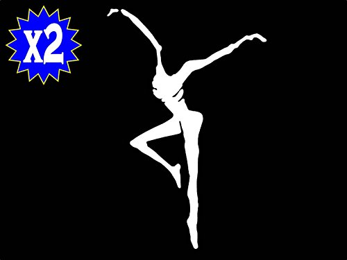 A1167 2x Dave Matthews Fire Dancer Decal Sticker